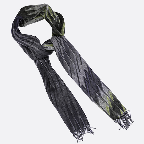 Платок FRAAS 625070 960 grey green