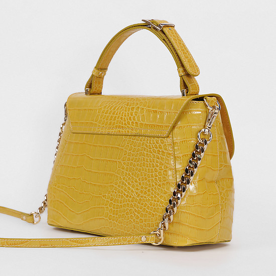 Ripani 7064 SA 00011 croco yellow