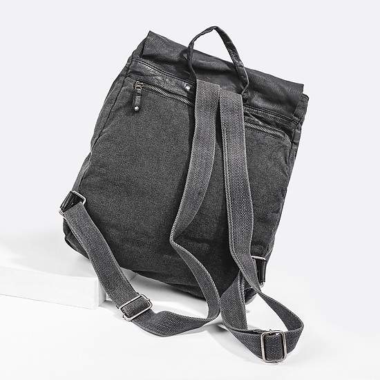 Рюкзаки PEPE JEANS 7462951 black denim
