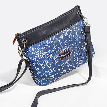 Клатч PEPE JEANS 7545651 blue flowers