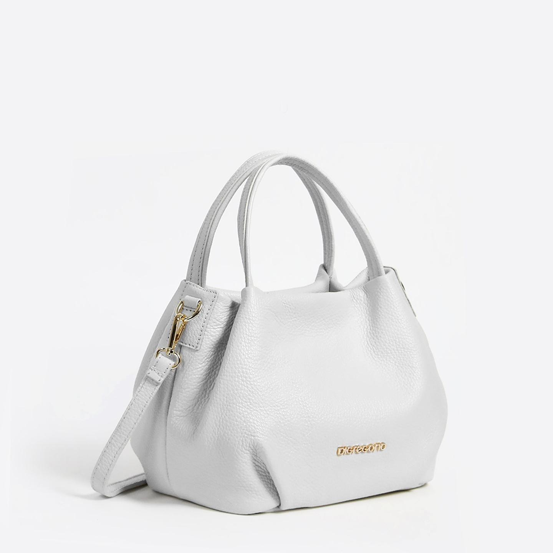 d96806833404 Белая сумка-мешок – Италия, белого цвета, натуральная кожа. Купить в ...