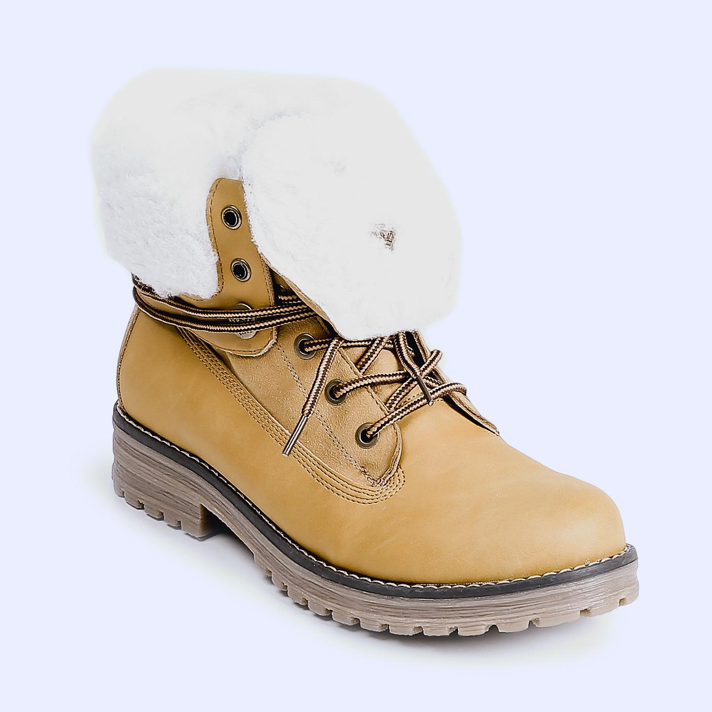 2f168c855 Ботинки KEDDO 868105 52 05 yellow – Китай, желтого цвета, замша ...
