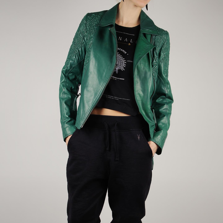 Куртка-косуха из мягкой натуральной кожи с вышитым узором – Китай ... 0fc6cad4e0a9e