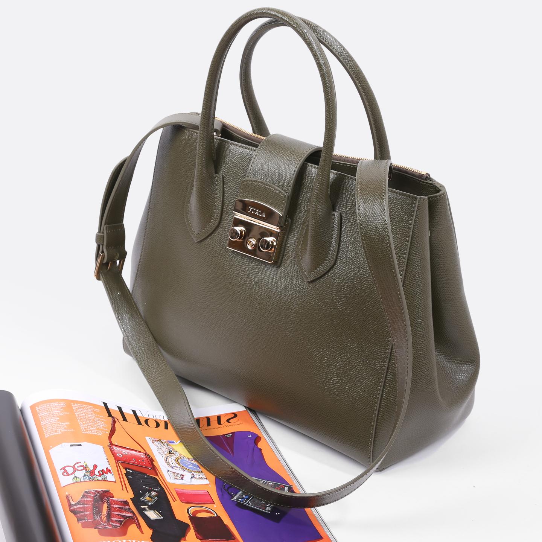 Оливковая сумка-тоут Metropolis L Tote – Италия, цвета хаки ... a584905d57b