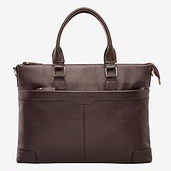 9a366e8a5e73 ... Классическая деловая сумка из коричневой кожи LAKESTONE 92543 brown