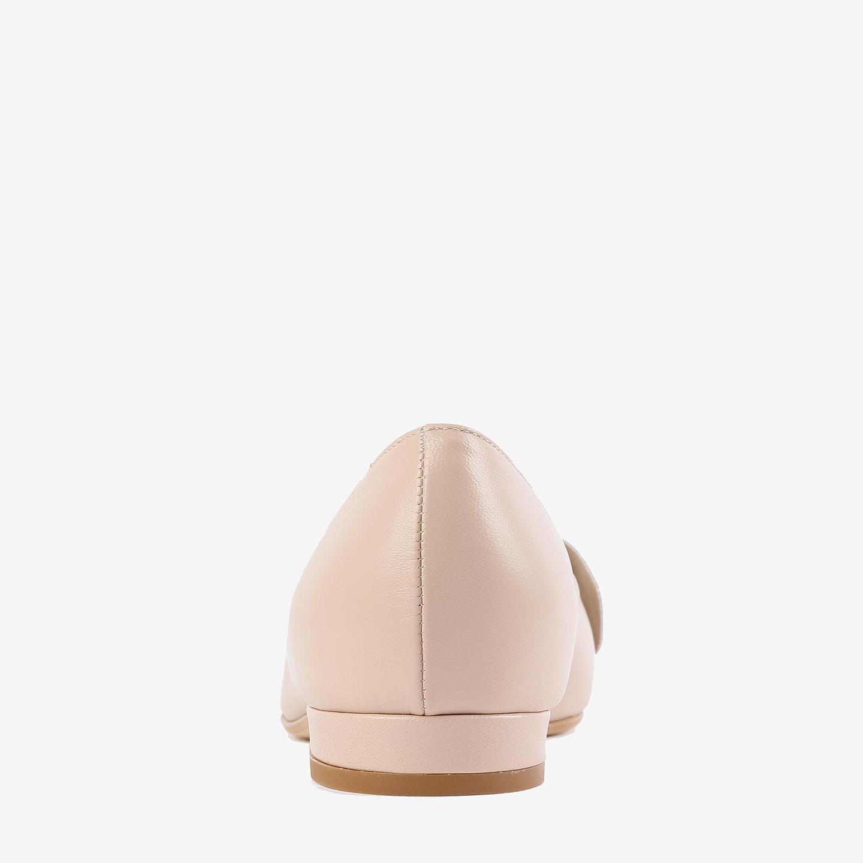 4cf7c027d Балетки Rococo 94050 01 nude – Италия, бежевого цвета, натуральная ...