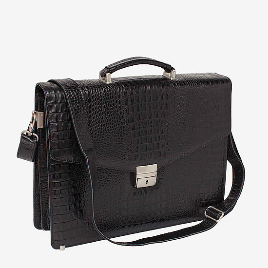 LAKESTONE 943030 black croc