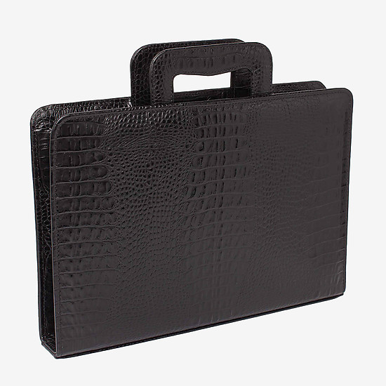 Папки LAKESTONE 961007 black croc