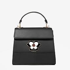 ... Миниатюрная кожаная сумочка Mughetto в черном цвете Furla 961619 black 9e471d5bf9458