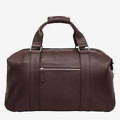 199377dad610 ... Мужская дорожная сумка из натуральной кожи в коричневом цвете LAKESTONE  97543 brown