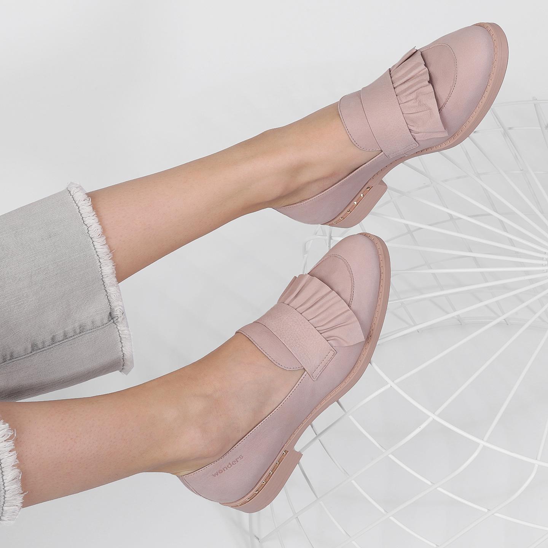0567d4611 Туфли Wonders A7220 nude – Испания, розового цвета, натуральная кожа ...