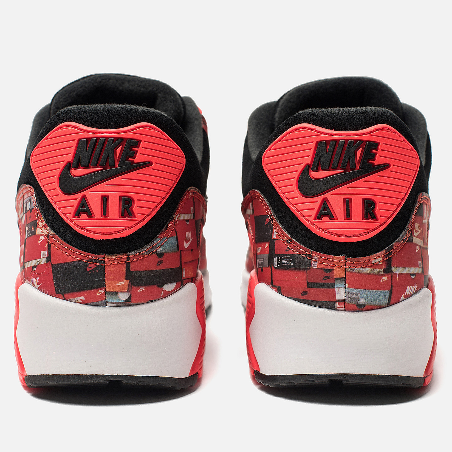 a52a6551 Кроссовки x atmos Air Max 90 We Love Nike Pack Black/Bright Crimson ...
