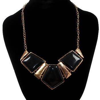 Женское колье Fashion Jewelry B09 C 13 black