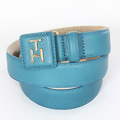 Женский ремень Tommy Hilfiger BW56921285 441 light blue