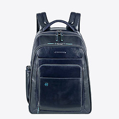33fb0c8e6716 ... Синий кожаный рюкзак большого размера Piquadro CA1813B2BLU2 blue