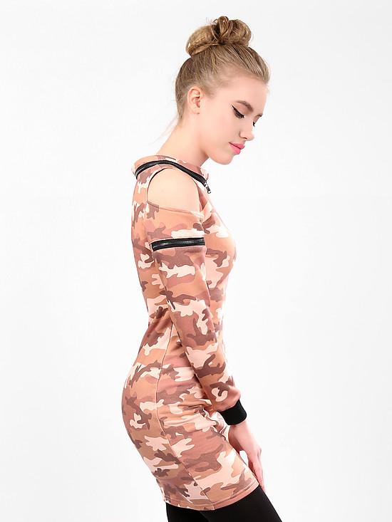 Платье Милитари Купить