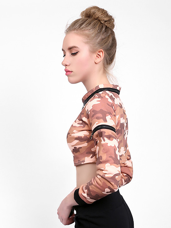 Толстовки Octave999 CAMO TOP pink military