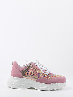 6703e9af Кожаные кроссовки Francesco V. D257_pink Кожаные кроссовки Francesco V.  D257_pink