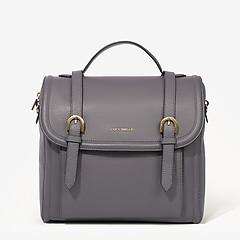 ff7396adca08 ... Серый кожаный рюкзак-трансформер Heureuse среднего размера Coccinelle  E1-CF0-14-01