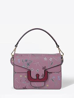 ... Фиолетовая кожаная сумочка-кроссбоди Ambrine Autumn Garden маленького  размера Coccinelle E1-CJ7-12 75d85c1d98a