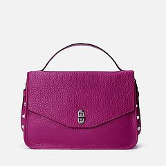 4bcb03e832ee ... Прямоугольная кожаная сумочка Taris в пурпурном оттенке Coccinelle  E1-DA5-12-01-