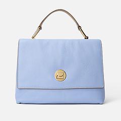 3578d0675c9a ... Голубая кожаная сумка Liya среднего размера Coccinelle E1-DD0-18-01-01