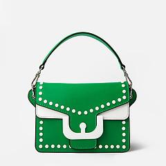 e2204f647103 ... Зеленая мини-сумочка в стиле ретро Ambrine Mini из плотной кожи  Coccinelle E1-DM5