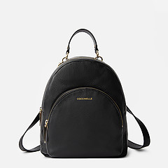 50dbf4b805f0 ... Повседневный рюкзак Alpha из мягкой черной кожи Coccinelle E1-DS5-14-01-