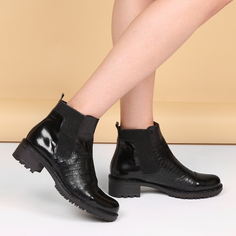 18fd8a526 Ботинки Wonders E5601 black – Испания, черного цвета, натуральная ...