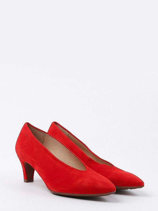 Туфли Wonders I6341 red chamois