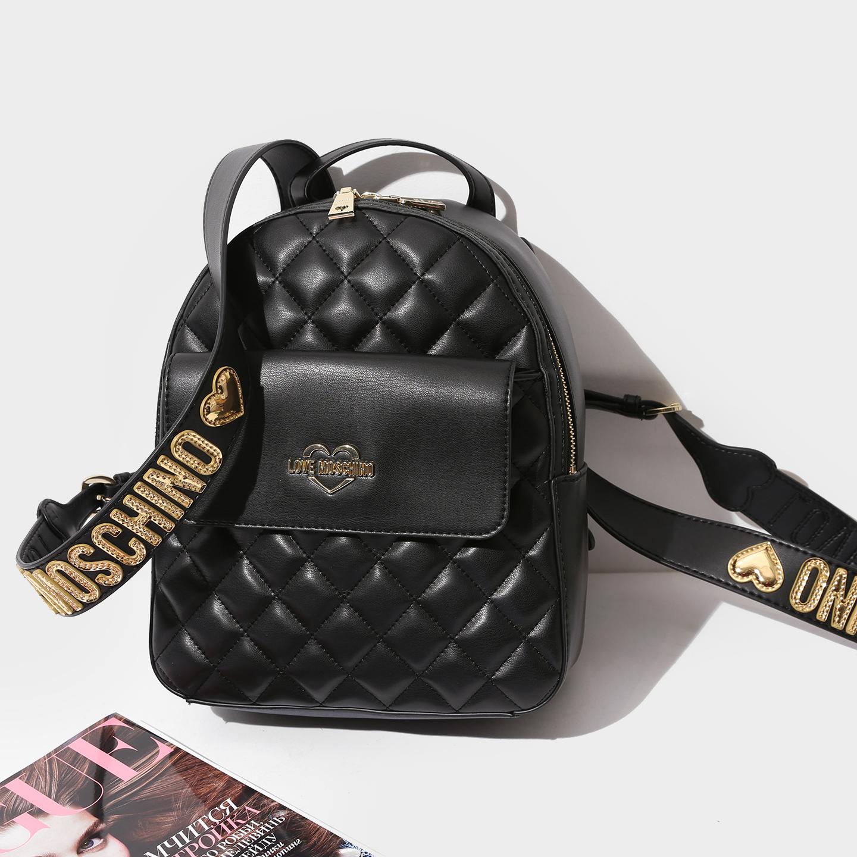 344943387a4d Черный стеганый рюкзак – Китай, черного цвета, искусственная кожа ...