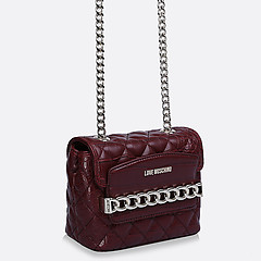 Сумка женская Moschino JC4016PP12LB0-550 croc bordo