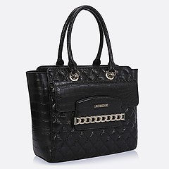 Женская сумка Moschino JC4018PP12LB0-000 croc black
