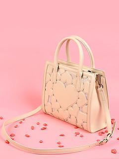 2d3010aa6107 ... Кремовая сумочка с сердцами Love Moschino JC4055PP15LF1 10A cream