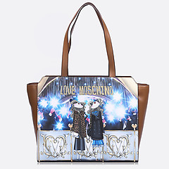 Женская сумка Moschino JC4107PP12LR0-104 light brown