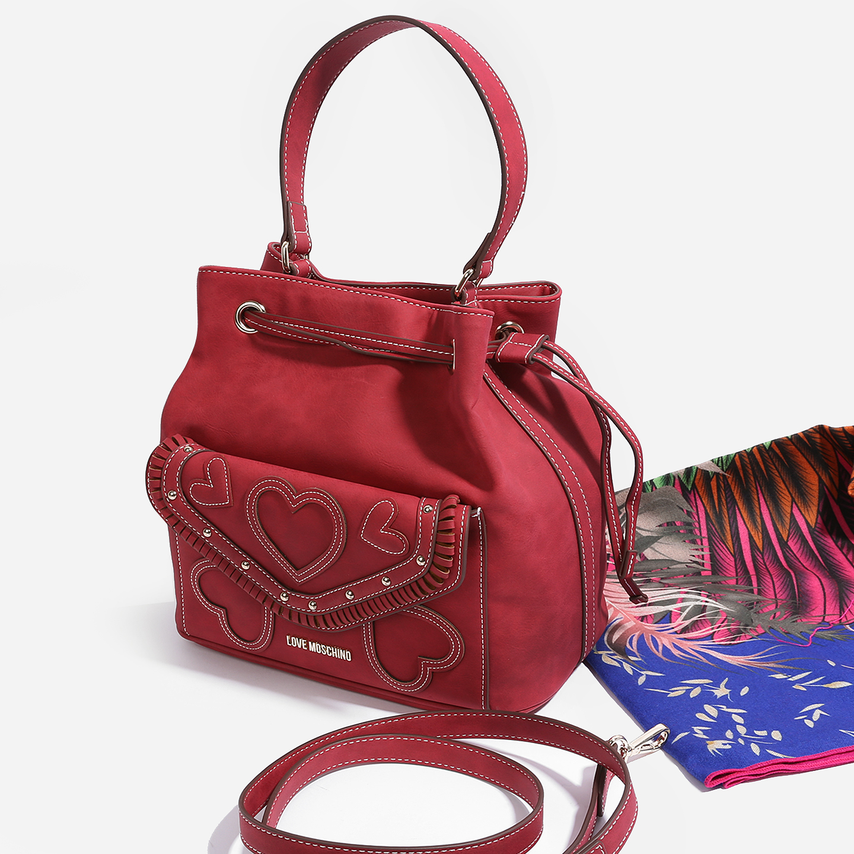 f5a7d4d4c10d Классическая сумка Love Moschino JC4110PP14LP0 red – Китай, красного ...