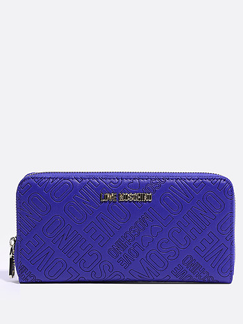 Синий аксессуар Love Moschino JC5511PP14LB0 blue letters