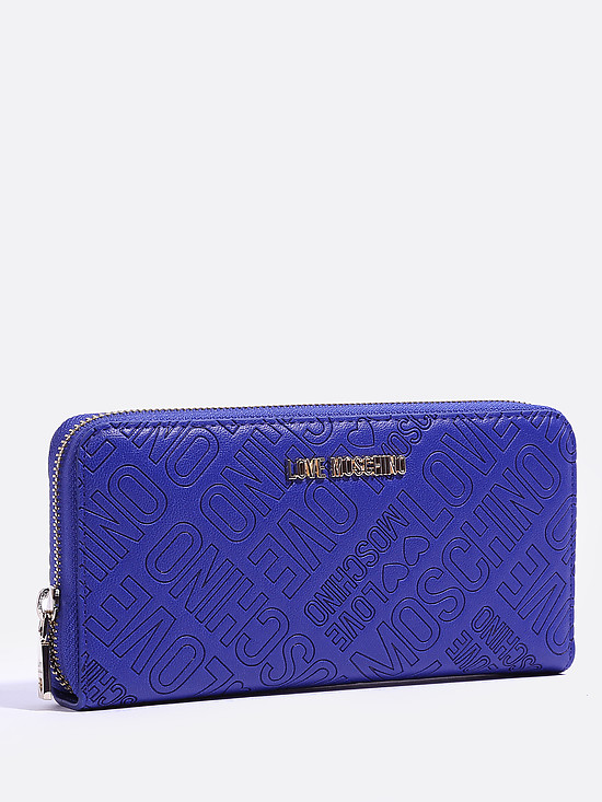 Кошелек Love Moschino JC5511PP14LB0 blue letters