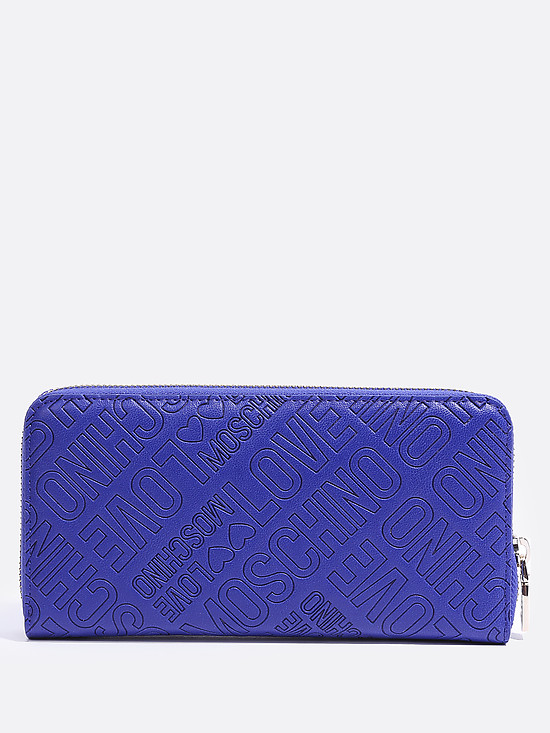 Кошельки, портмоне Love Moschino JC5511PP14LB0 blue letters