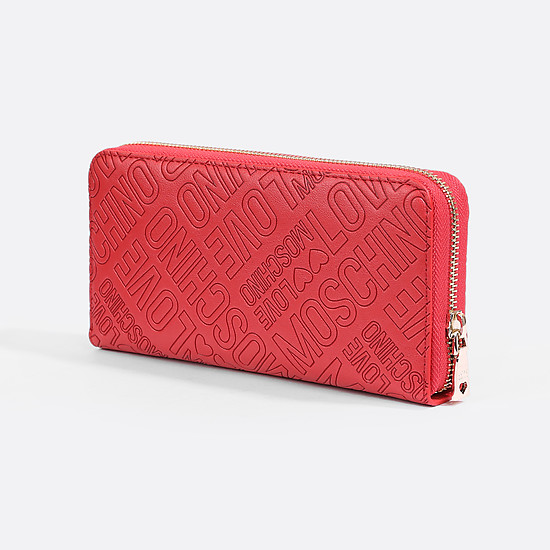Кошелек Love Moschino JC5511PP14LB0 red letterrs