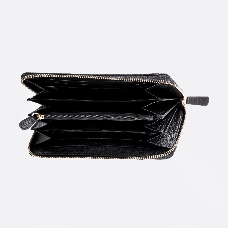 51e70b1fef53 Кошельки, портмоне Tosca Blu K1120 black multicolor. Разноцветный кожаный  кошелек в стиле пэчворк Tosca Blu. Женские кошельки ...