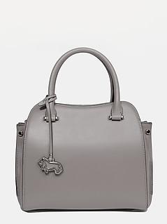 ... Кожаная сумка-тоут небольшого размера в оттенке тауп Labbra L-A198-01  taupe 736247768fc