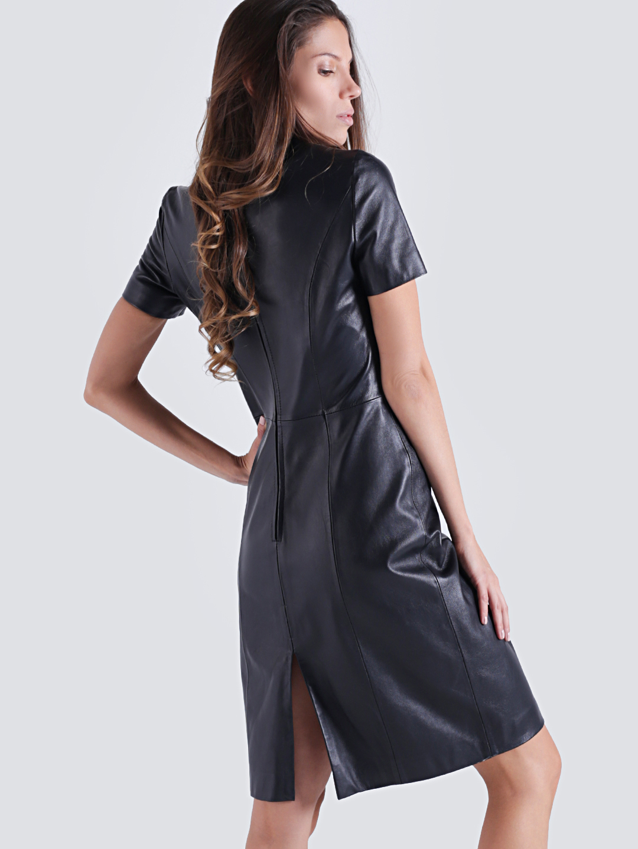 Черное Платье Футляр Купить