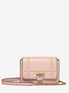 cf65a281c855 ... Миниатюрная сумочка кросс-боди розового цвета на цепочке VISONE LISS19  pink