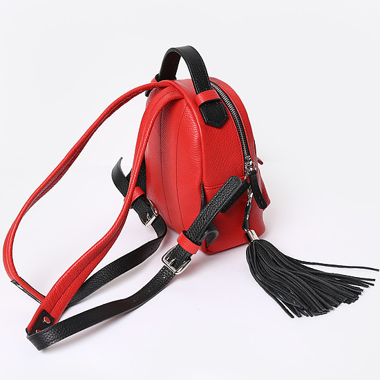 Bagpack Mini red black
