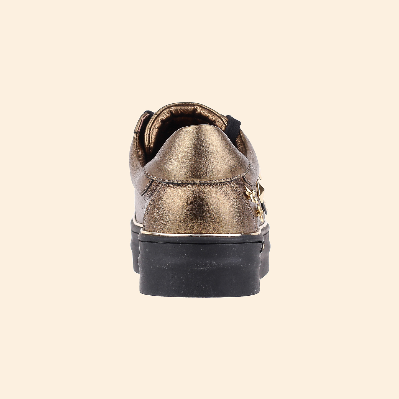 0be16c6df8c1 Кеды Gianni Renzi N0490 – Италия, бронзового цвета, натуральная кожа ...