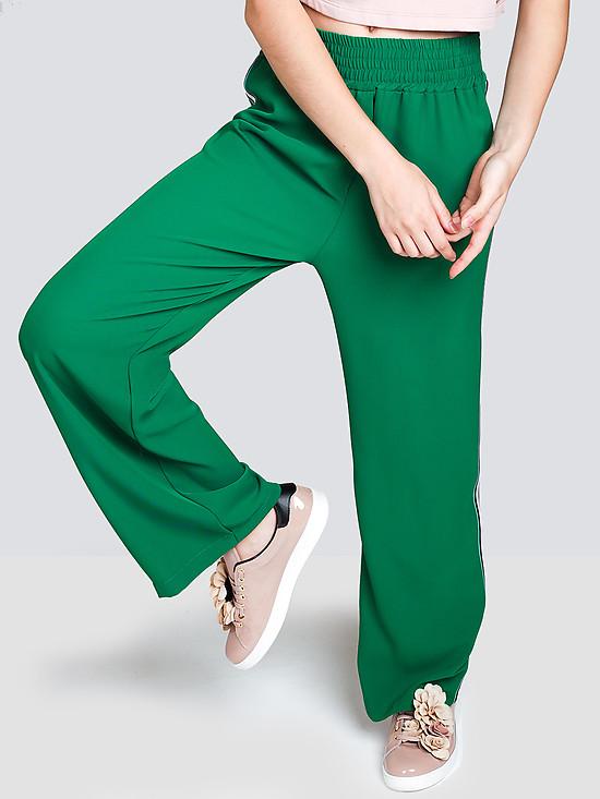 Женские Брюки Зеленого Цвета Купить