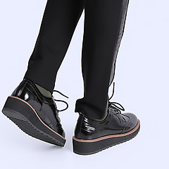 Ботинки PEPE JEANS PLS10236_999 gloss black
