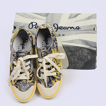 Кеды женские PEPE JEANS PLS30322_580 blue yellow