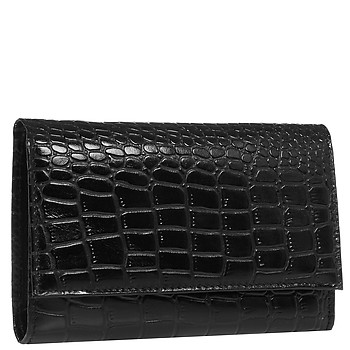 Мужской кошелек Richet Ri-025 PM croc gloss black